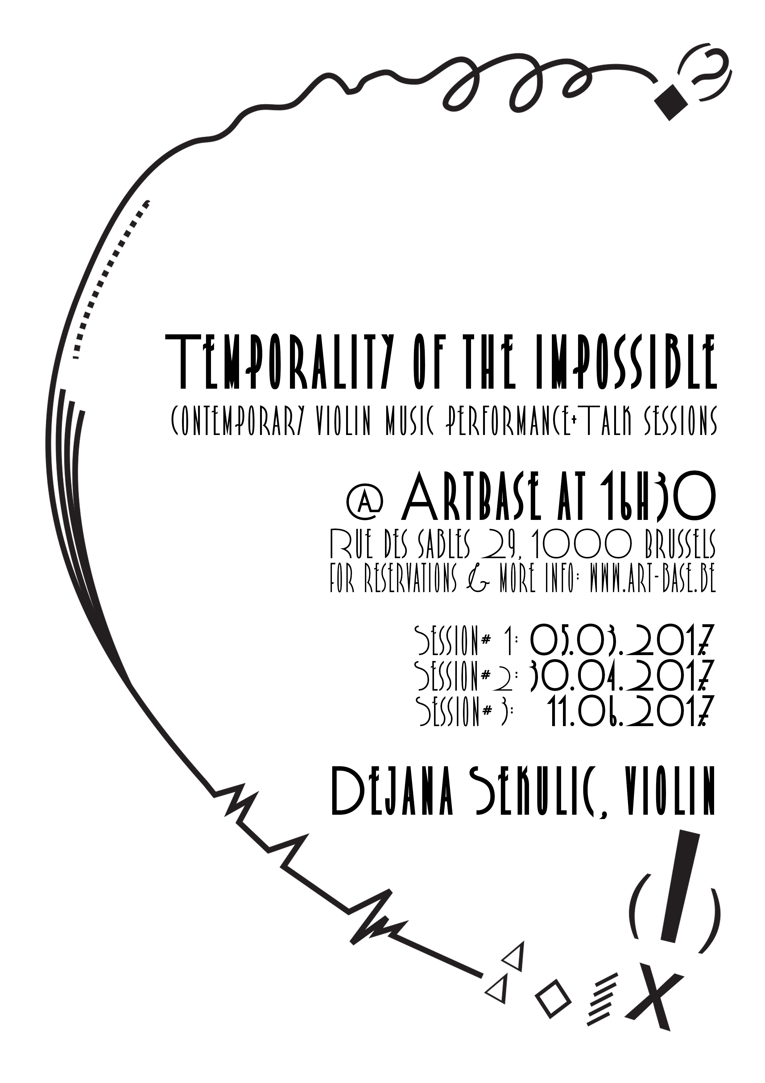 Temporality of the Impossible: Performance+Talk Sessions